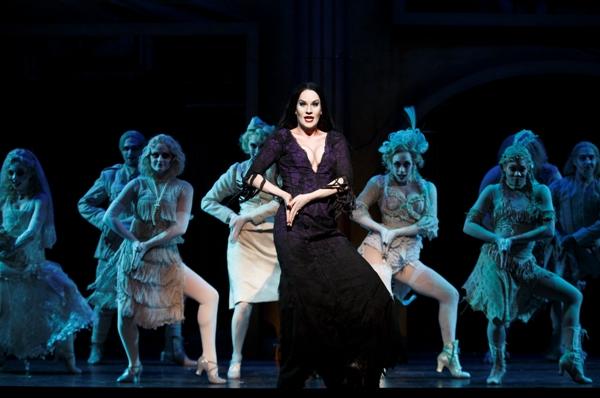 Singapore The Addams Family Musical Morticia Ancestor Dance Resorts World Sentosa Festive Theatre