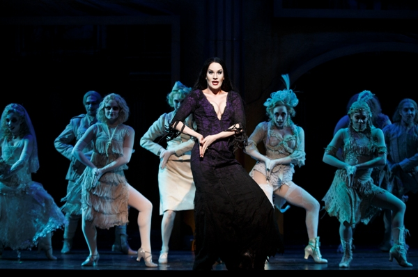 Singapore The Addams Family Musical Morticia Ancestor Dance Resorts World Sentosa Festive Theatre