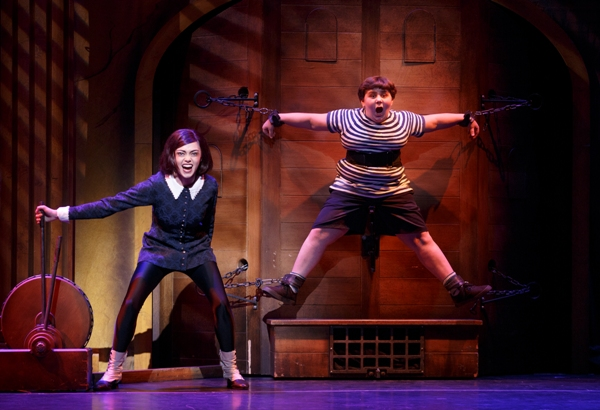 Singapore The Addams Family Musical Wednesday Torture Pugsley Resorts World Sentosa Festive Theatre