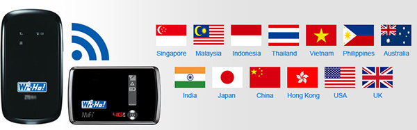 Telecom Square Singapore WiFi 15 Dollars Flat Rate US UK China Thailand Japan India Australia New Zealand