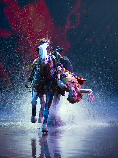 Cavalia Singapore Marina Bay Sands Horse Trick Performance