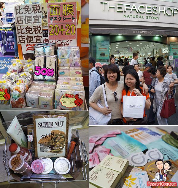 myeongdong-facial-products-shopping