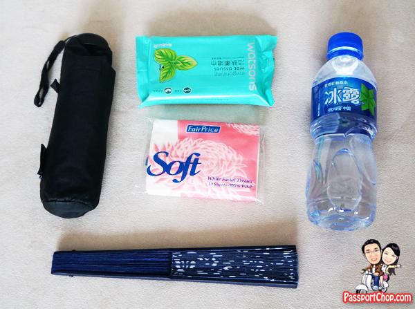 China Summer Heat Trip Preparations
