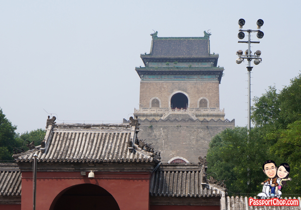 Bell tower Beijing 钟楼