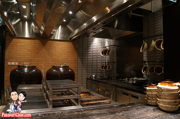 Open Kitchen Kerry Hotel Beijing Claypot
