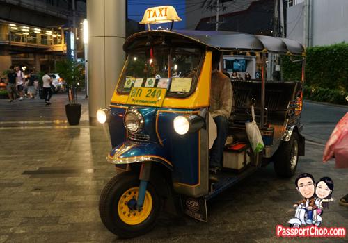 Bangkok Tuk Tuk Taxi Bargain Fare