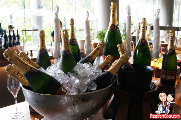 PARKROYAL on Pickering Champagne Buffet Brunch Weekend Free Flow Bubbly