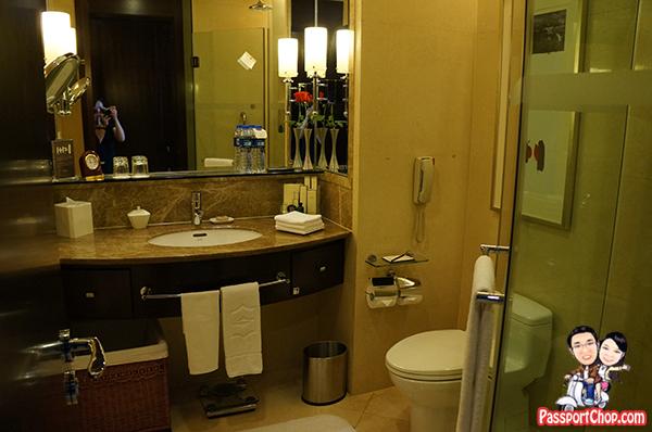 Shangri-La Xian Vanity Bathroom
