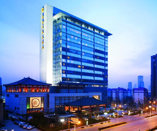 Shangri-la Exterior-Xian-Hotel