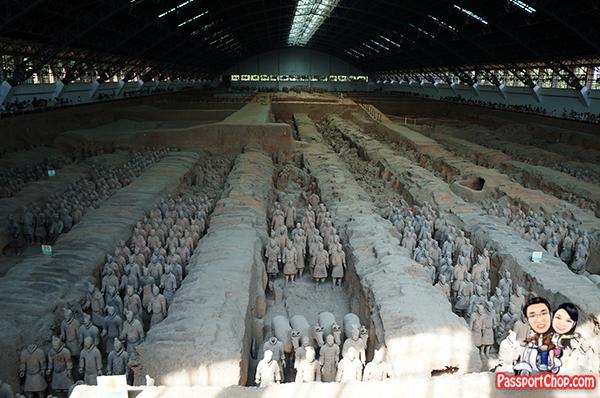 Terracotta Army Qin Emperor Mausoleum Bing Ma Yong