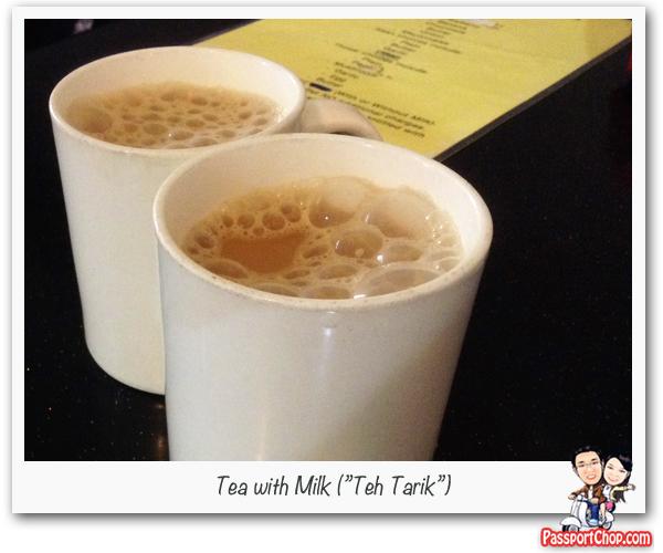 Teh Tarik Milk Tea