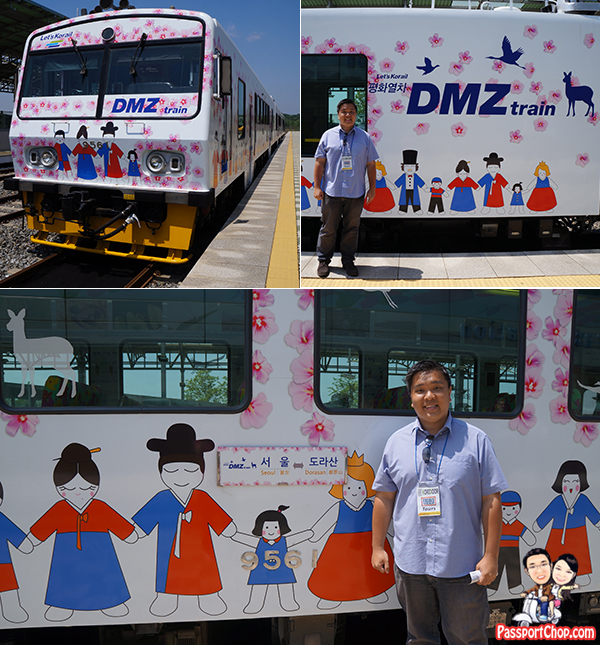 DMZ dorasan north korea train