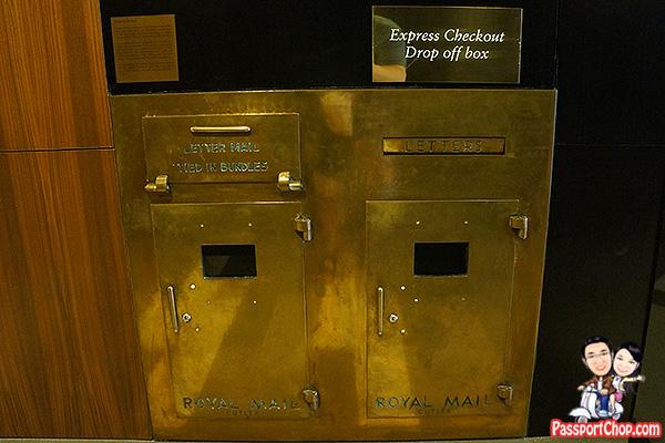 ascott raffles place cutler mailbox heritage mail chute
