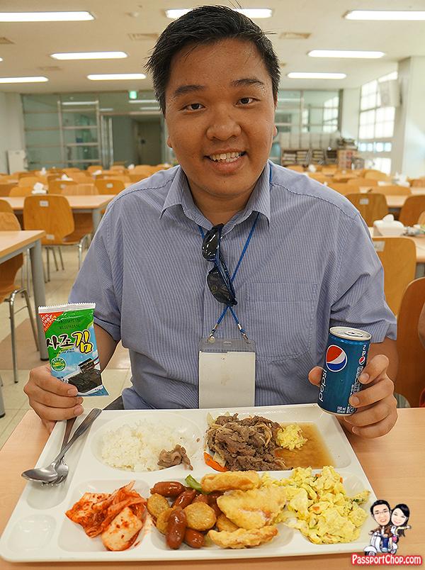 beef or vegetarian meal buffet koridoor dmz jsa tour lunch