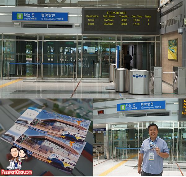 dorasan station train pyongyang dmz