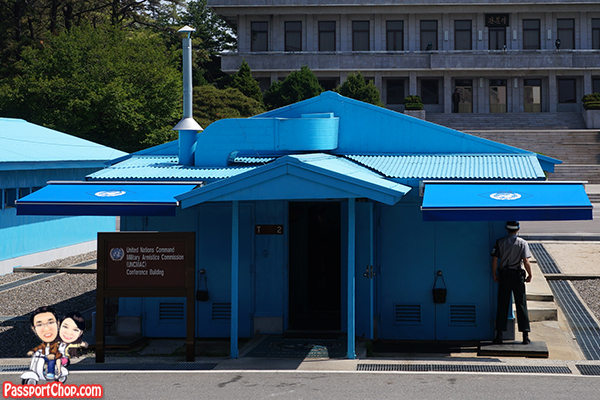 joint security area blue house jsa dmz tour
