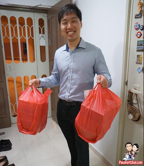 foodpanda shi fu ge seafood order