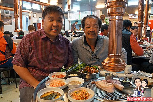 jeju black pork restaurant famous tourist south korea