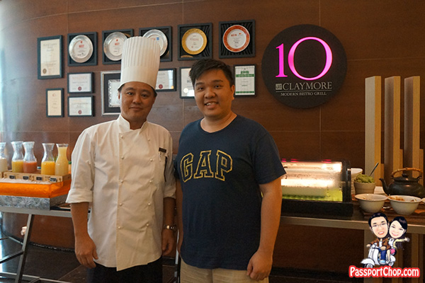 pan pacific orchard 10 at claymore chef andy best restaurant