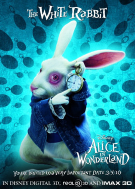 white rabbit alice in wonderland singapore