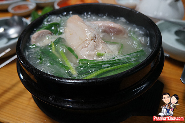 ginseng chicken soup jeju seogwipo where to eat
