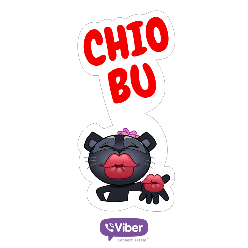 Chio Bu viber sticker packs singapore