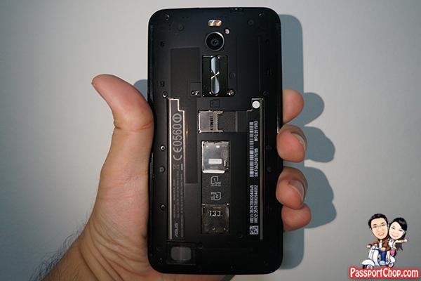 asus zenfone 2 dual sim card microSD review