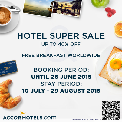 3 Asian Cities You Can Visit with 40% Off All AccorHotels + Free Breakfast