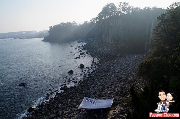 jeongbang-falls-asia-sea-jeju-korea