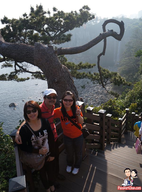 jeongbang-falls-jeju-stairs-korea