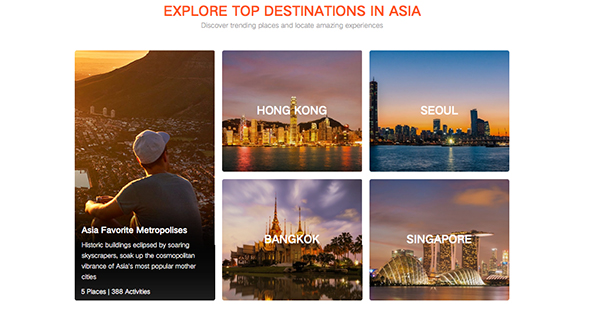multiple asian destinations klook travel