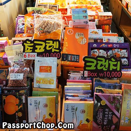 dongmun-market-souvenirs-snacks