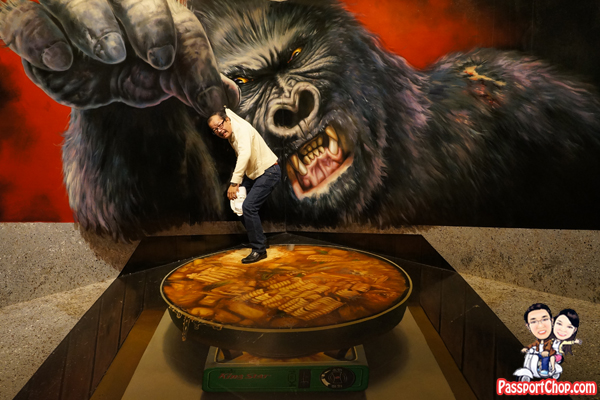 king-kong-alive-museum-jeju-trick-art-eye