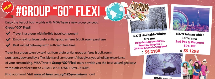 misa travel group go flexi travel promotions