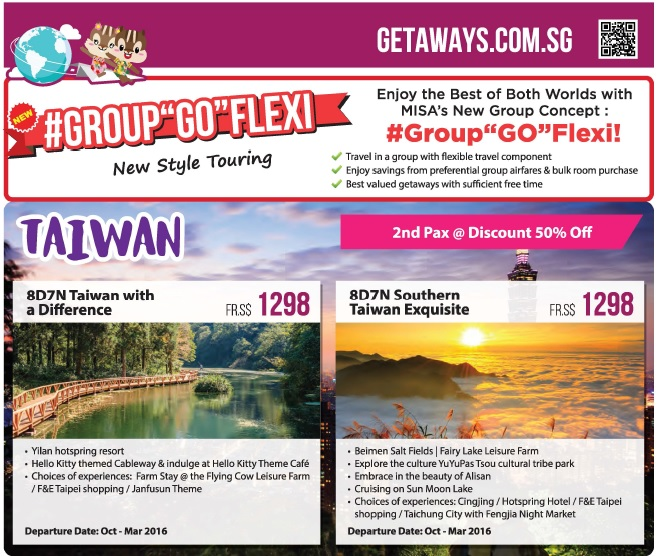 taiwan misa travel group go flexi