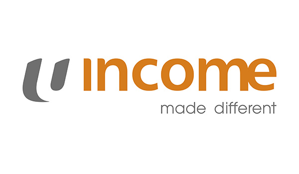 Income Travel Insurance Logo Made Different