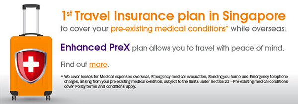 NTUC Income Enhanced PreX Insurance