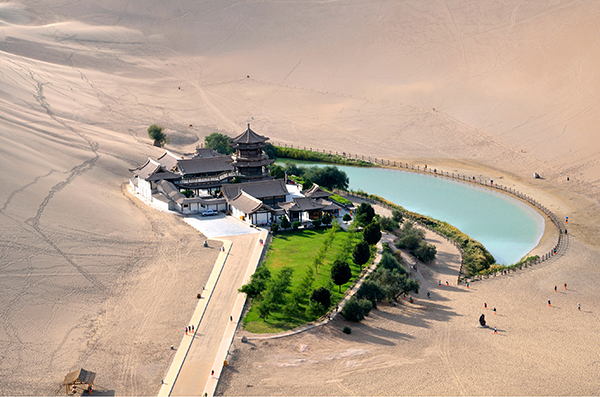 jetbay tour Dunhuang Crescent Moon Pool
