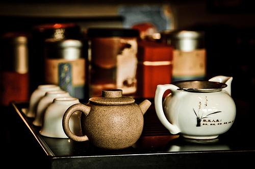 tea house scam china