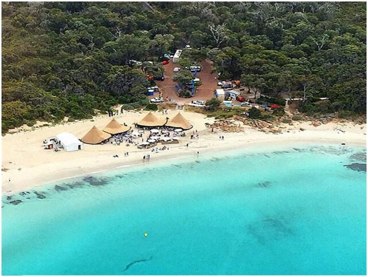 audi gourmet beach bbq castle