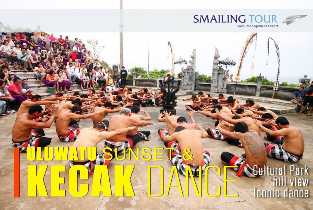 bali kecak dance smailing tour