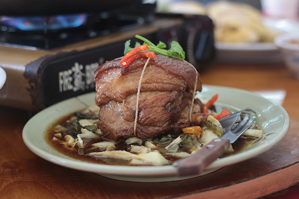 braised pork belly taiwan cuisine