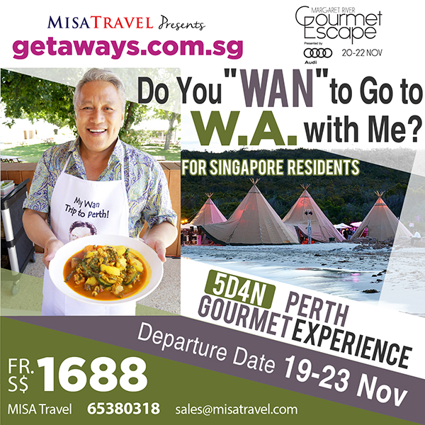 chef wan margaret river gourmet escape perth singapore tour