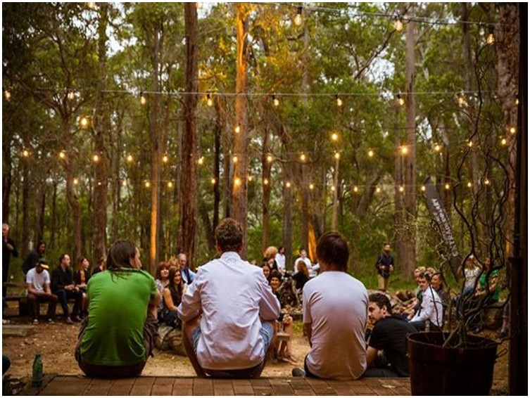 feast in forest safari club leeuwin estate margaret river