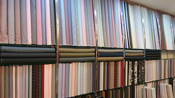 lee fashion tailor fabric selection