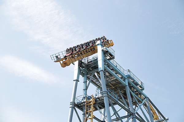 lihpao amusement park roller coaster
