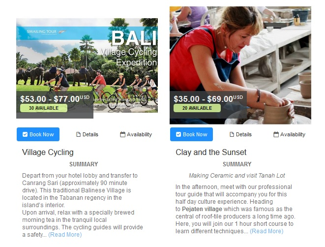 smailing bali village cycling tours