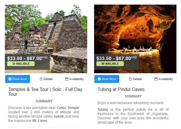 yogyakarta pindul caves smailing bali tour