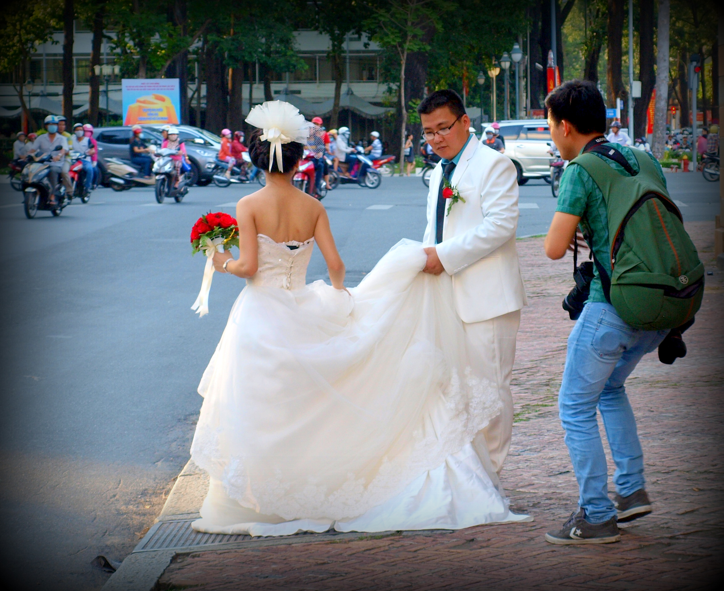 ho chi minh city wedding photoshoot