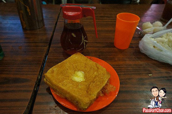 tai po market food court toast bread butter